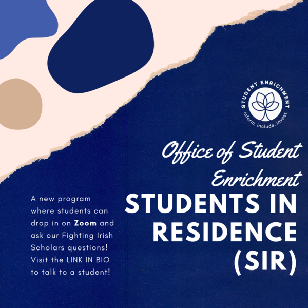 Ose Students In Residence Sir